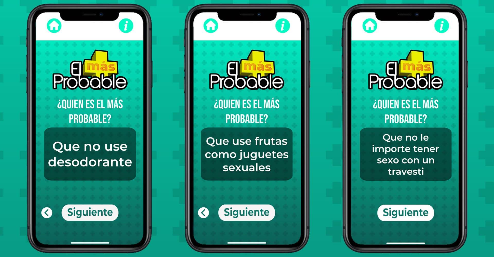 El Mas Probable Un Juego Para Tomar A Beber App