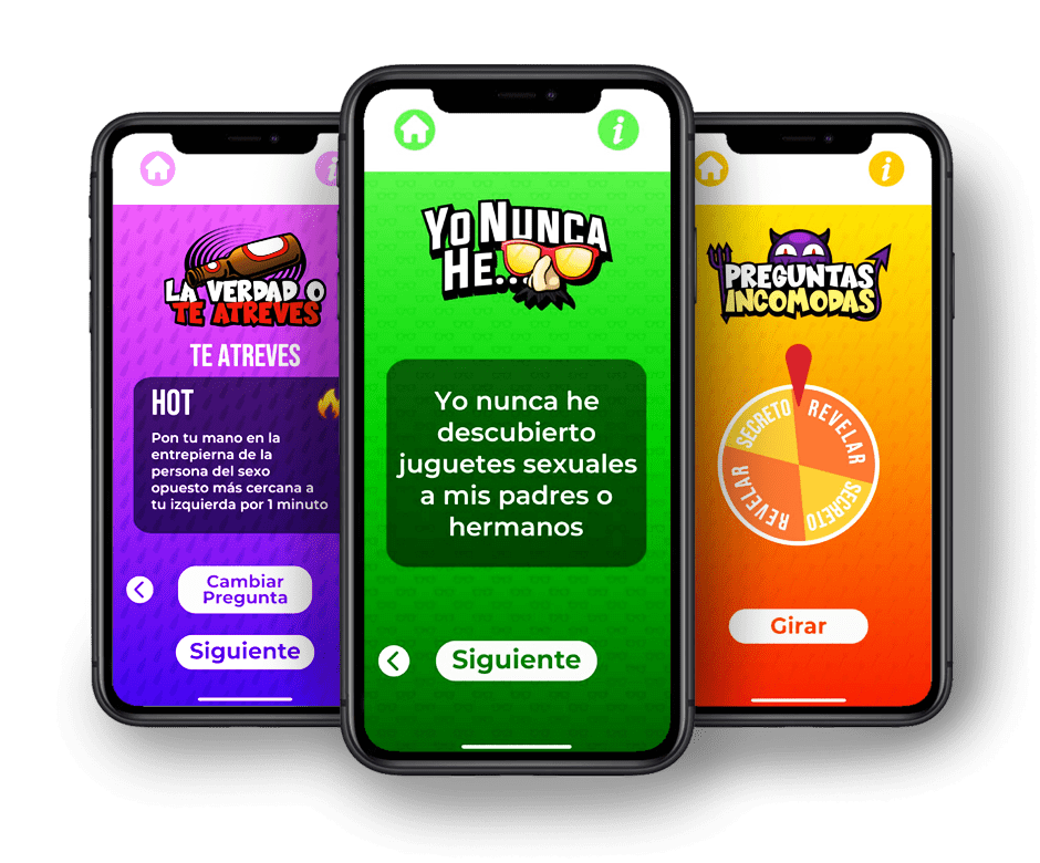 Pantallazos de A beber app